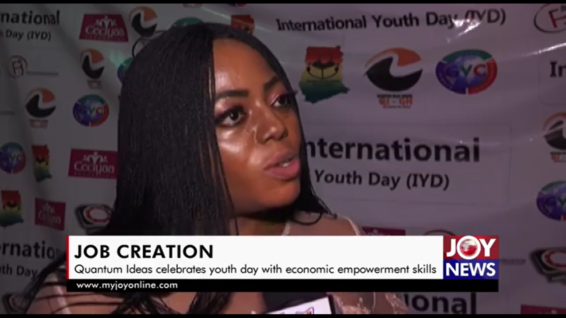 Quantum Ideas Ghana celebrates youth day with economic empowerment skills programme